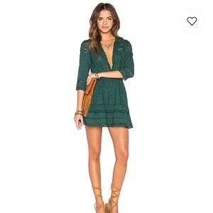 Tularosa Payton Green Dress
